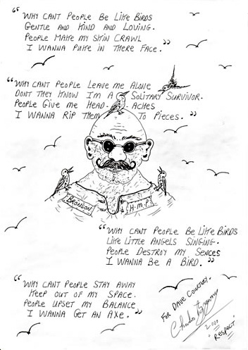 why can't people be like birds charles bronson
