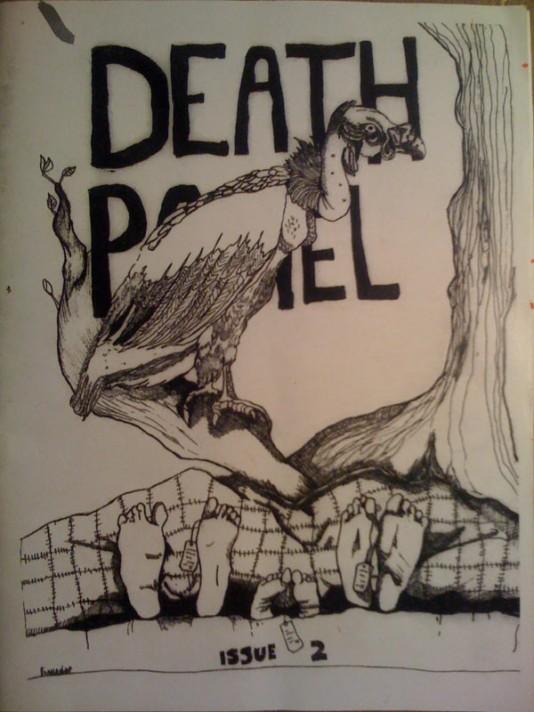 death panel press magazine zine trumbull island jarrod shanahan