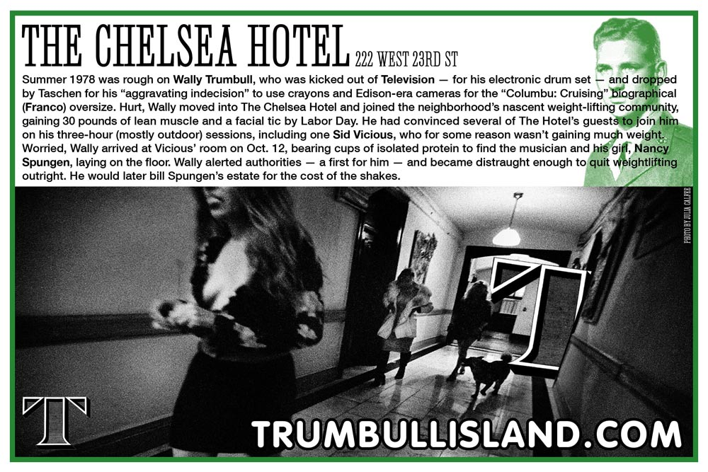 chelsea hotel sid vicious sex poistols nancy spungen television franco columbu